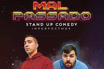 Espetáculo de stand up comedy, no Cine-Teatro de Elvas, no domingo