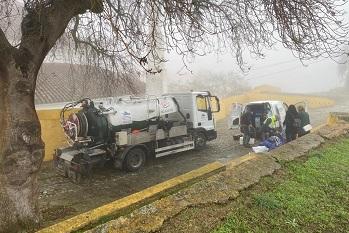 Aquaelvas prossegue ações de limpeza nos reservatórios