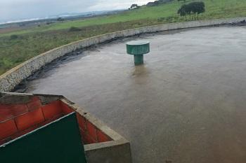Limpeza dos depósitos de Barbacena e Vale Figueira