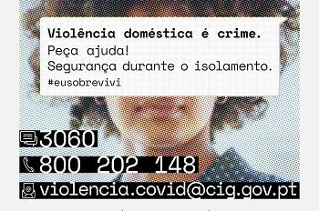 Campanha de prevenção e combate à violência doméstica