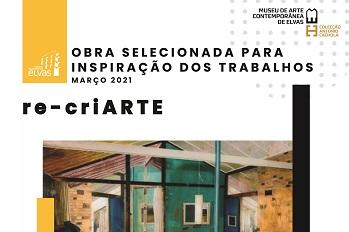 Re-criArte destaca Gil Cortesão em março