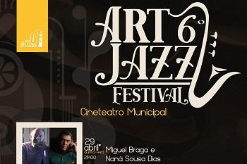 Concerto de sábado do Art Jazz Festival no Cineteatro
