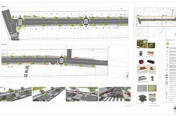 Requalificação de avenida em Santa Eulália