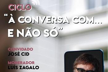 José Cid é o convidado do ciclo de conversas