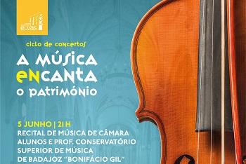 Recital de Música de Câmara decorre este sábado
