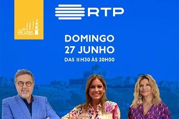 RTP em direto de Elvas no domingo