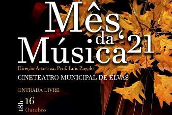 Outubro é Mês da Música em Elvas